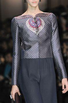 Detailed photos of Giorgio Armani Privé Haute Couture Spring 2014