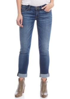 Hudson Jeans Contender Tally Crop Skinny Jeans