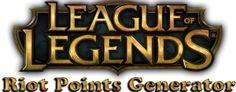 http://cheatsandcr4cks.com/lol-riot-points-generator-html/  League of legends riot points generator