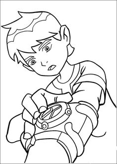 77 Wicked Ben 10 Colouring Pages For Children From Toddler To Teens These Are Great Learning And Having Fun