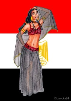 Tzipporah,egyptian enchantress by Larocka84.deviantart.com on @deviantART