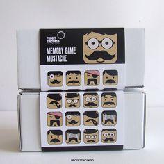 Memory Game Mustache by progettincorso.