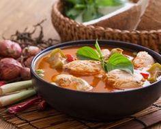 Curry rouge de dinde