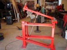 Blacksmithing Power Hammer (well foot power)