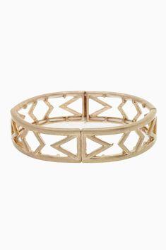 Gold-Aztec-Cutout-Bracelet