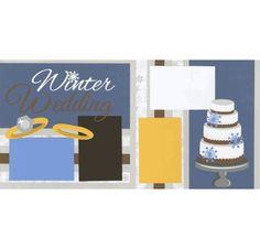 Winter Wedding Page Kit