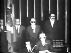 POSSE DO PRESIDENTE ERNESTO GEISEL EM 1974 - DITADURA MILITAR