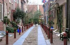 Philadelphia is home to the country's oldest residential street, Elfreth's Alley... - Photo: Courtesy of Elfreth's Alley