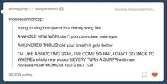 I'm pretty sure someone actually heard me doing this and posted exactly what they heard LOL
