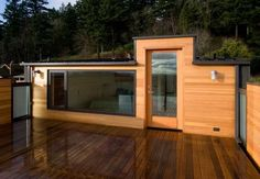 Architecture Fetching Simple Modern House Plans Photos With Wooden Wall Stylish And Big Glass Door