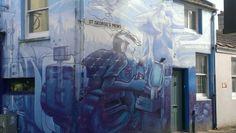 #Brighton #Streetart #brightongraffiti