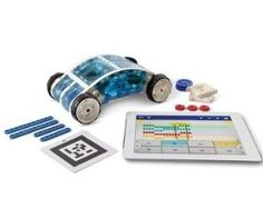 Test your racing skills with the all new IPad Controlled Car Kit powered by Augmented reality. Build over 8 motorized models and race them in your own virtual world. Ipad Accessories, Hammacher Schlemmer, Futuristic Cars, Kit Cars, New Ipad, Gifts For Kids, Unique Gifts, Gadgets, Fancy