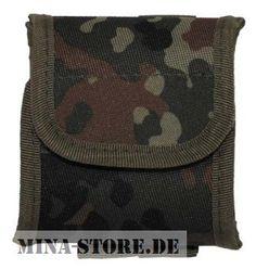 """mina-store.de - Tasche """"Molle"""" mit Beutel flecktarn"""