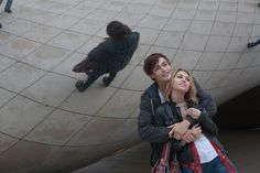 Douglas Booth and Miley Cyrus in LOL (2012); even though I'm not a huge fan of Miley, Douglas Booth is an amazing actor!