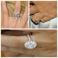 Lorraine Schwartz Rose Gold Engagement Ring ♡ #breathtaking #shinebrightlikeadiamond #blakelively