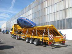 La semi-remorque CargoMAX de Faymonville est entre autre recommandée pour le #transport de marchandises avec surlargeur.