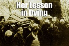 Her Lesson in Dying|The Divine Mercy Message from the Marians of the Immaculate Conception