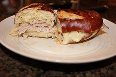 Never trust a skinny cook....: Pretzal paninis