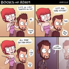FunSubstance - Funny pics, memes and trending stories Funny As Hell, The Funny, Funny Shit, Adam Ellis Comics, 4 Panel Life, Funny Memes, Hilarious, Funny Quotes, Life Quotes