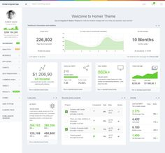 HOMER Admin Theme is a premium admin dashboard theme with flat #design concept. It is fully responsive admin #dashboard template built with Bootstrap 3+ Framework, HTML5 and CSS3, LESS, Media query, #AngularJS, Grunt and Bower. It has a main collection of reusable UI components and integrated with latest jQuery plugins. It can be used for all type of small and medium #webapp.