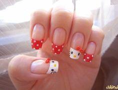 unas bonitas uñas
