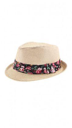 7a0a474b7ab Hanna Straw Fedora - Such a cute summer hat!