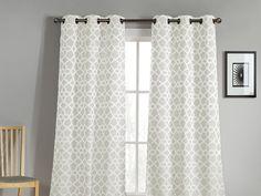 "Milaroma Jacquard Window Panels-76""x84""- 2 Colors for $24.99"