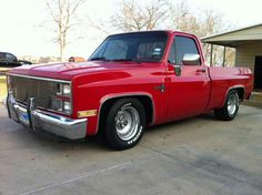 '81-'87 Chevrolet C10 Short Bed, Lowered