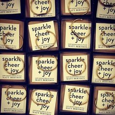 wishing you all the sparkle, cheer + joy
