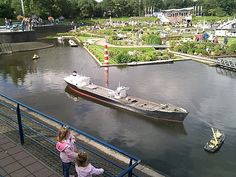 Madurodam..in the Netherlands, its a mini village that has mini versions of Europe's great land marks