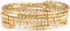 Rachel Lindsay wearing Stella & Dot Gold Celine Wrap Bracelet