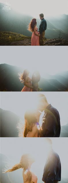 Pacific Northwest Engagement Session in the Cascade Mountains // ThreeFifteen Photography // Seattle, WA