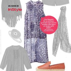 #matfashion as seen in @instylegreece April issue! Who knew paisley print could be so chic? // Το περίτεχνο print για τις καλοκαιρινές μας εμφανίσεις! [κωδικός 651.7159.1] #matfashion #SpringSummer2016 #collection #paisley #print #instyle #instylegreece #fashion #editorial #inspiration #ootd #magazine #trend