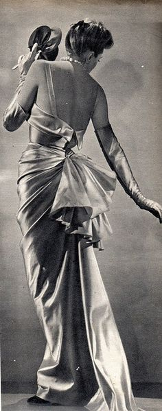 Glamour dress - 1939 - @~ Mlle