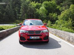 BMW X4 - Driving Scenes - http://www.bmwblog.com/2014/05/28/bmw-x4-driving-scenes/