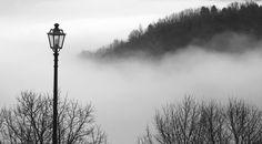 Nebbia in collina.