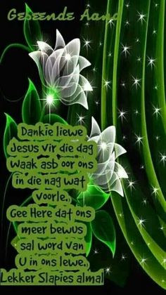 Evening Quotes, Good Night Blessings, Goeie Nag, Good Night Quotes, Morning Greeting, Afrikaans, Plant Leaves, Friendship, Words