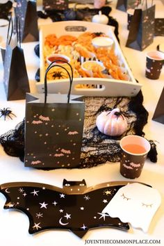 Are you looking fun kids' Halloween party ideas? Get inspired by my not so spooky kids' Halloween tablescape! Find cute Halloween party decorations and a creative finger foods charcuterie board! Party Decorations: @thepartydarlingshop #ad #halloweenparty #tablescape #kidsparty #halloweendecorations