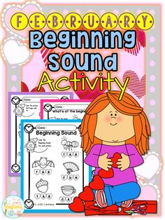 February Beginning Sound Activity