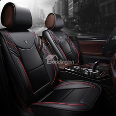 Active Sports Style Distinctive With Harmonious Colors Universal Car Seat Covers