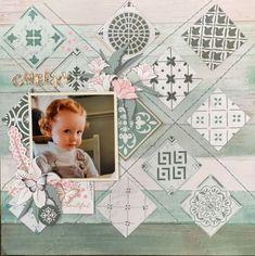 Baby Girl Scrapbook, School Scrapbook, Kids Scrapbook, Scrapbook Page Layouts, Scrapbook Cards, Digital Scrapbooking, Scrapbooking Ideas, Card Stock, Christmas Cards
