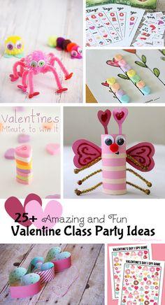 25+ Fantastic Valentine Class Party Ideas