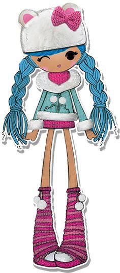 Lalaloopsy Girls Mittens Fluff 'n' Stuff