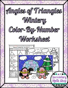 Triangles Special Lines in Triangles ColorByNumber