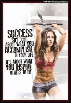 27 Fitness Motivation Pics And Quotes #rippedabswomen https://www.musclesaurus.com #motivationalfitnessquotes