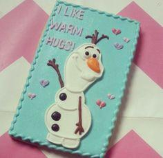 Disney Frozen Olaf cookie