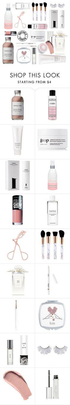 """""""Beauty editors choice"""" by thestyleartisan ❤ liked on Polyvore featuring beauty, French Girl, Chantecaille, Verso, Kopari, Maybelline, Jo Malone, Burberry, Givenchy and Philips"""