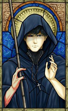Amon drawn in a religious form. Amon Koutarou, Ayato Kirishima, Tokyo Ghoul Manga, Kaneki, Manga Anime, Anime Nerd, Les Oeuvres, Anime Characters, Fan Art