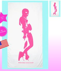 "Opening Ceremony x Spring Breakers ""Spring Break 4ever Bitches"" Towel"