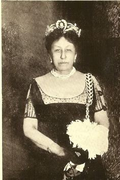 Countess Elizabeth Schouvaloff, St. Petersburg, photograph, circa 1914.  Countess Schouvaloff was famed for her the formidable expression of her countenance and her long standing rivalry with the Grand Duchess Marie Palvona Senior.